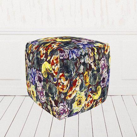 Пуфик кубик велюр Манифик 01