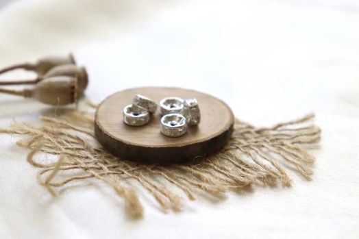 Металлические бусины, Рондель со стразами, св.серебро 8 мм, 10 шт/упак