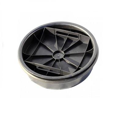 Дно колодца (крышка) к трубе 425 с уплотнительным кольцом
