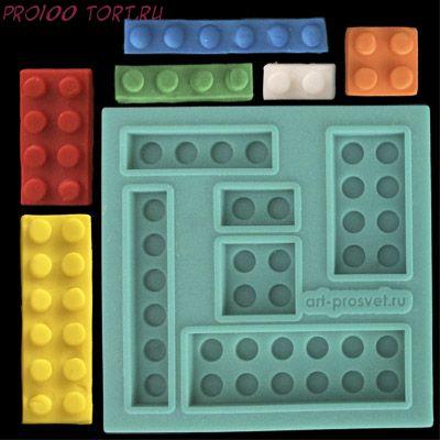 Молд силиконовый Lego