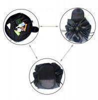 Ленивая нейлоновая косметичка-мешок на липучке (1)