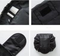 Ленивая нейлоновая косметичка-мешок на липучке (3)