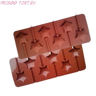 Форма для шоколада и карамели ЗВЁЗДЫ