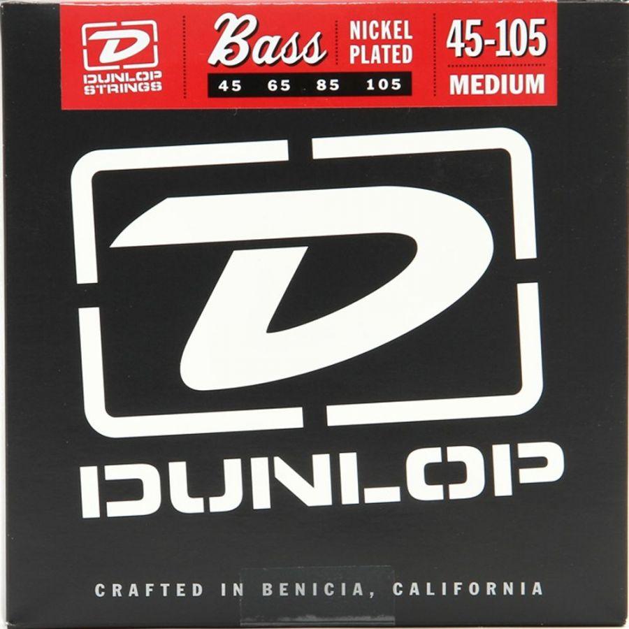 DUNLOP DBN45105 (045-105) Cтруны для бас-гитары (4 стр.)