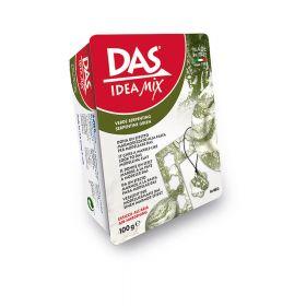 Паста для моделирования, 100гр DAS IDEA MIX, зеленый (арт. 342004)