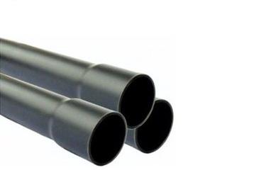 Труба напорная ПВХ PN10 280х10,7 с раструбом, 3 м