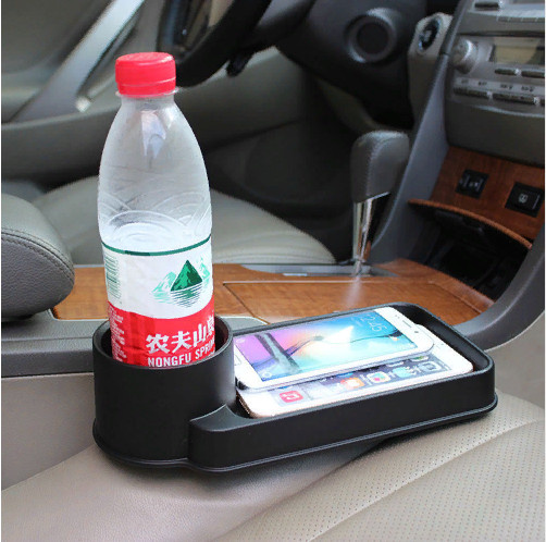 Органайзер с подстаканником для авто Vehicle Storage Box