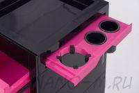 Парикмахерская тележка QA00265-X розовая - вид 6