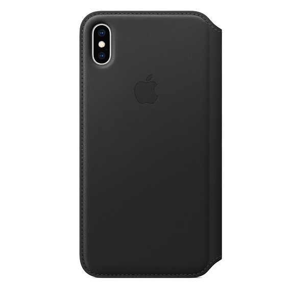 Чехол iPhone Xs Max Apple Leather Folio Case