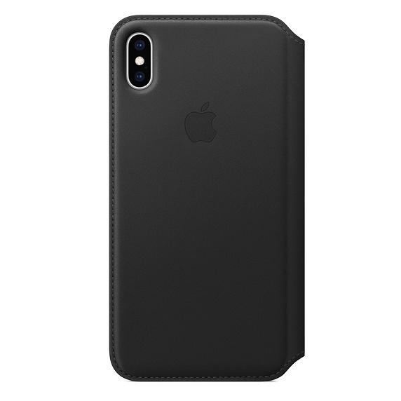 Чехол iPhone Xs Max Apple Leather Folio Case