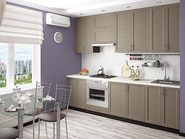 Кухня Сканди-03 Cappuccino Wood