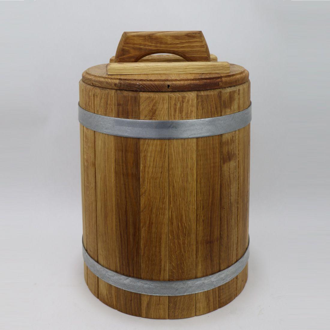 Дубовая кадка для засолки 30 л
