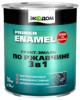 Грунт-Эмаль по Ржавчине 3 в 1 Экодом 10кг Гладкая для Металлических Поверхностей