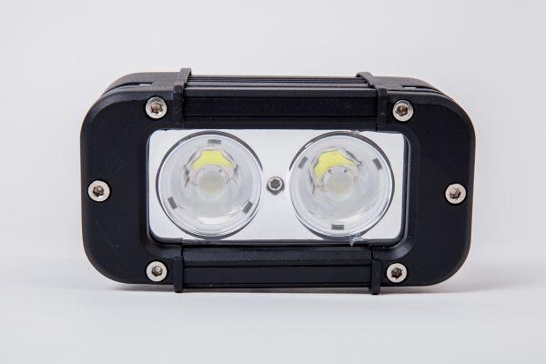Прямоугольная светодиодная LED фара дальнего света LP10 - 20W CREE