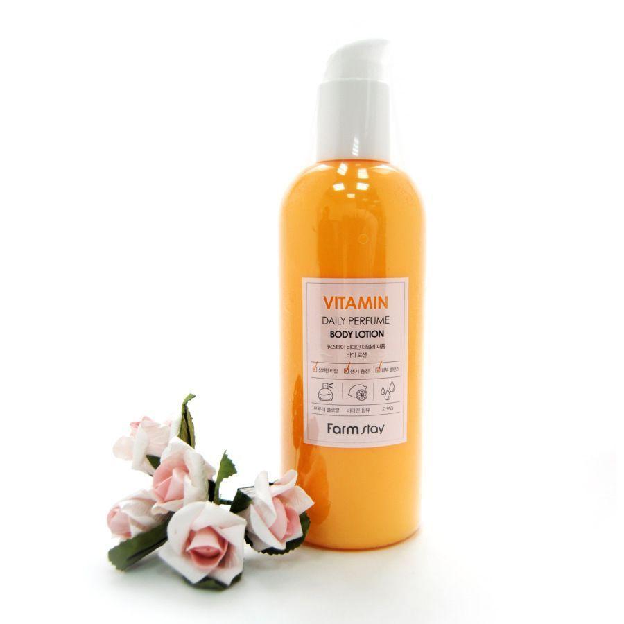 Парфюмированный лосьон для тела с витаминами FarmStay Escargot Daily Perfume Body Lotion , 330 мл