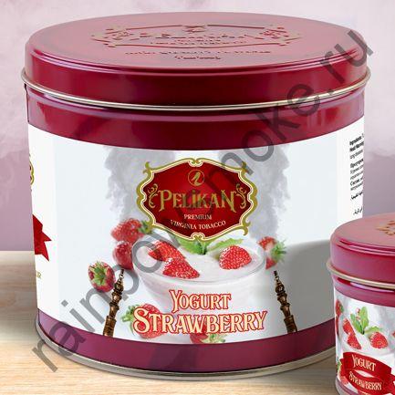 Pelikan 1 кг - Yogurt Strawberry (Йогурт с Клубникой)