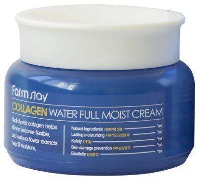 Крем для лица с коллагеном FarmStay Collagen Water Full Moist Cream