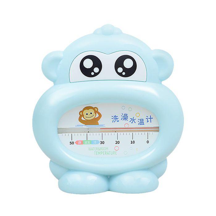 Детский Термометр Для Воды И Воздуха 2 В 1 Beideli Обезьянка, Цвет Голубой