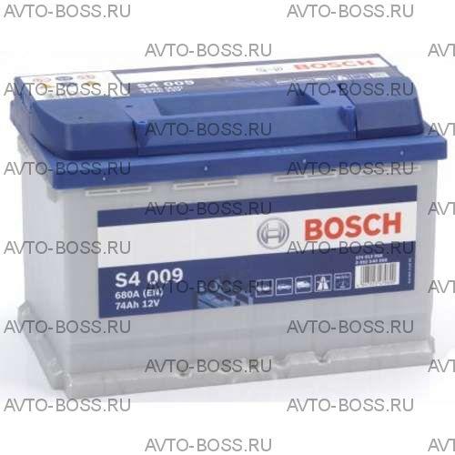 Автомобильный аккумулятор 0092S40080 BOSCH (S4 008) 74 a/h обр 574012068 L3 74 Ач