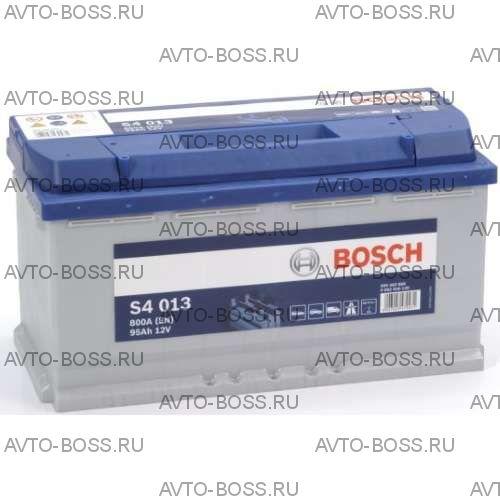Автомобильный аккумулятор 0092S40130 BOSCH (S4 013) 95 a/h обр 595402080 L5 95 Ач