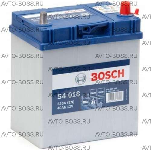 Автомобильный аккумулятор 0092S40180 BOSCH (S4 018) 40 a/h обр тонк.кл. 540126033 B19 40 Ач