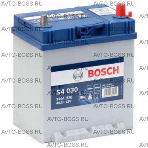 Аккумулятор Bosch S4, 40Ah, 330A, 0 092 S40 300, (-/+)