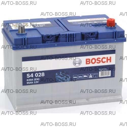 Автомобильный аккумулятор 0092S40280 BOSCH (S4 028) 95 a/h обр 595404083 D31 95 Ач