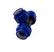 Тройник компрессионный разъемный (D, мм 110x110x110)