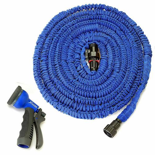 Поливочный шланг Xhose (Икс Хоуз)   30 м, синий.