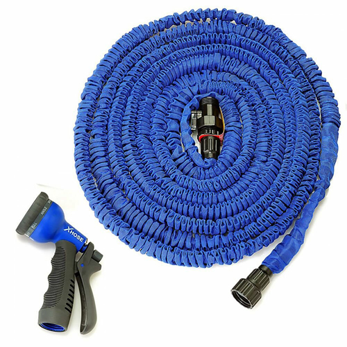 Поливочный шланг Xhose (Икс Хоуз)   75 м, синий.