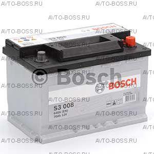 Автомобильный аккумулятор 0092S30080 Bosch S3008 (S3 008) 70 a/h обр 570409064 L3 70 Ач