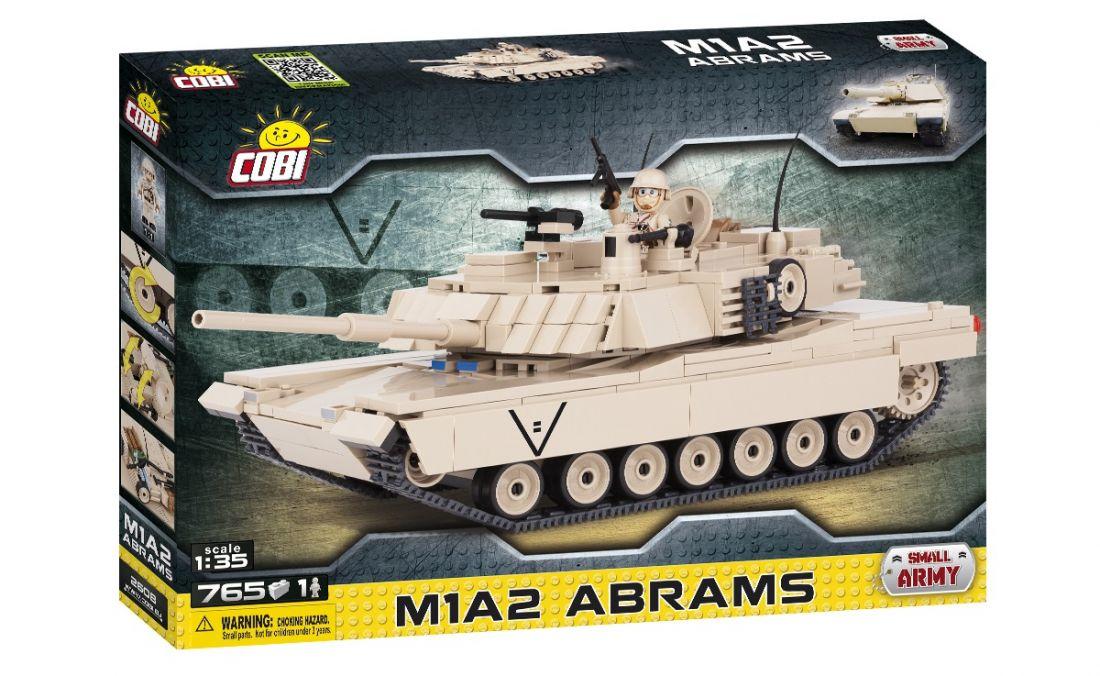 Конструктор COBI Танк M1A2 Abrams (Абрамс) 2608