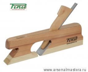 Двойной деревянный фальцгобель PINIE 255 x 30 x 155 мм, лезвие 30 мм, угол 45 арт. 12-30C/S