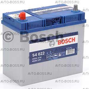 Автомобильный аккумулятор 0092S40220 BOSCH (S4 022) 45 a/h прям тонкие 545157033 B24 45 Ач
