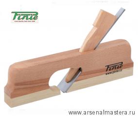 Деревянный фальцгобель PINIE 255 x 24 x 155 мм, лезвие 24 мм, угол 45 арт. 10-24C/S