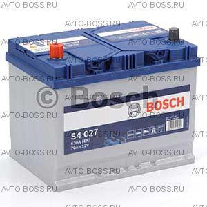 Автомобильный аккумулятор 0092S40270 BOSCH (S4 027) 70 a/h прям 570413063 D26 70 Ач