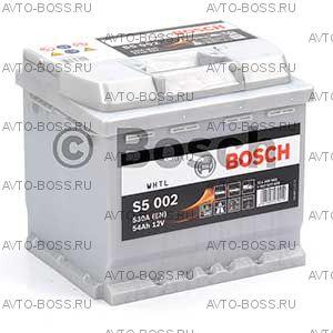 Автомобильный аккумулятор 0092S50020 Bosch S5002 (S5 002) 54 a/h обр 554400053 54 Ач