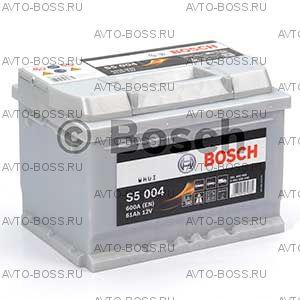Автомобильный аккумулятор 0092S50040 Bosch S5004 (S5 004) 61 a/h обр 561400060 LB2 61 Ач