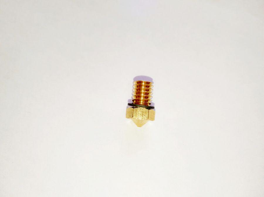 Сопло малого диаметра типа E3D для 3D-принтера Faberant Cube, 0.2 мм