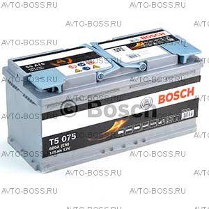 Автомобильный аккумулятор 0092S5A150 BOSCH (S5 A15) 105 a/h обр AGM 605901095 L6 105 Ач
