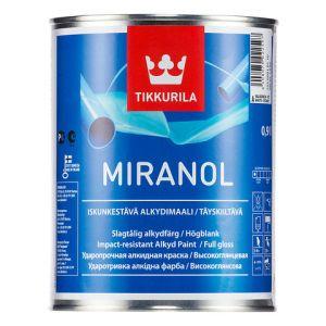 Ударостойкая тиксотропная алкидная эмаль Миранол