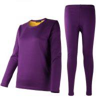 Женское термобелье с велюровой подкладкой, фиолетовый (2)