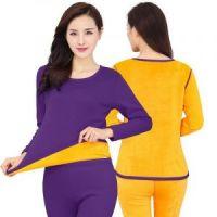 Женское термобелье с велюровой подкладкой, фиолетовый (1)