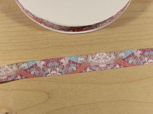 Лента репсовая с рисунком, ширина 25 мм, длина 10 м, Арт. ЛР5794