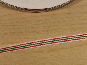 Лента репсовая с рисунком, ширина 9 мм, длина 10 м, Арт. ЛР5812