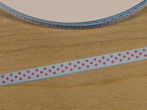 Лента репсовая с рисунком, ширина 9 мм, длина 10 м, Арт. ЛР5815-4