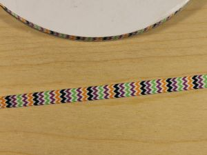 `Лента репсовая с рисунком, ширина 9 мм, Арт. Р-ЛР5811