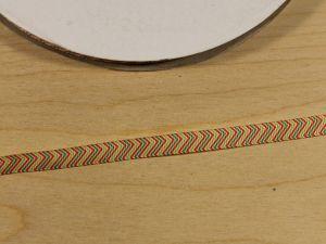 `Лента репсовая с рисунком, ширина 9 мм, Арт. Р-ЛР5809