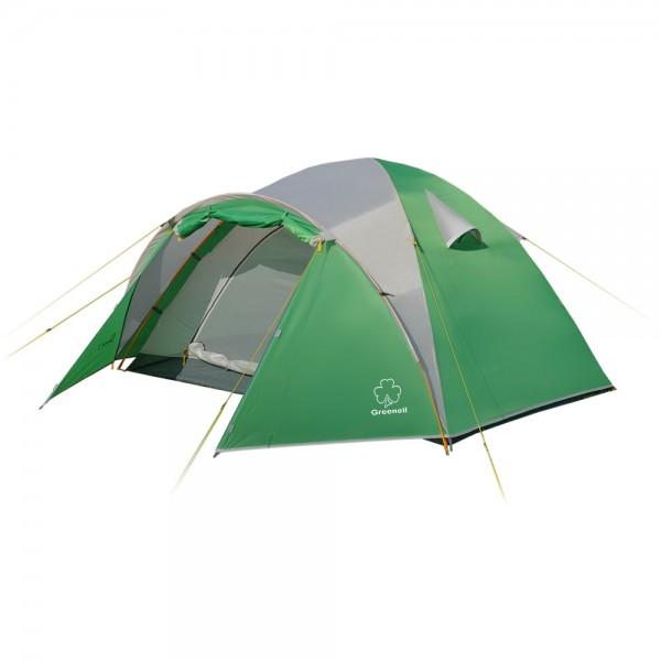 Палатка  NovaTour  Дом 2 Зеленый/серый