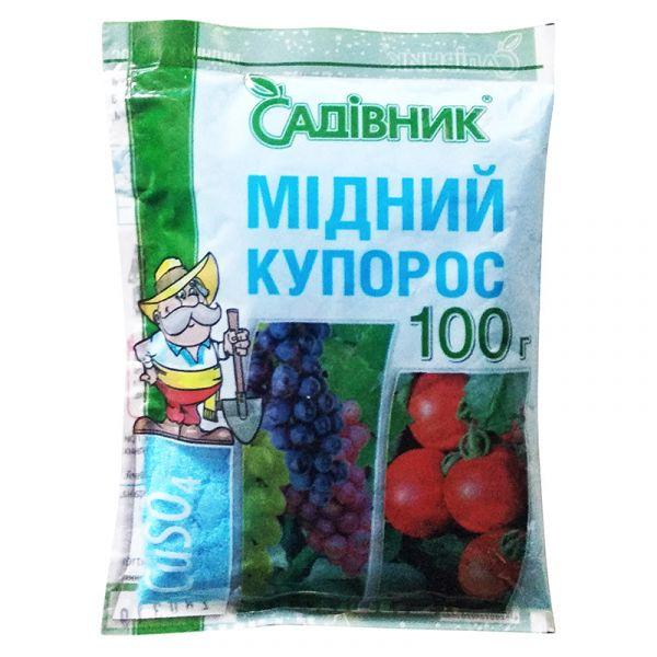 """""""Медный купорос"""" (100 г) от Агрохимпак, Украина"""